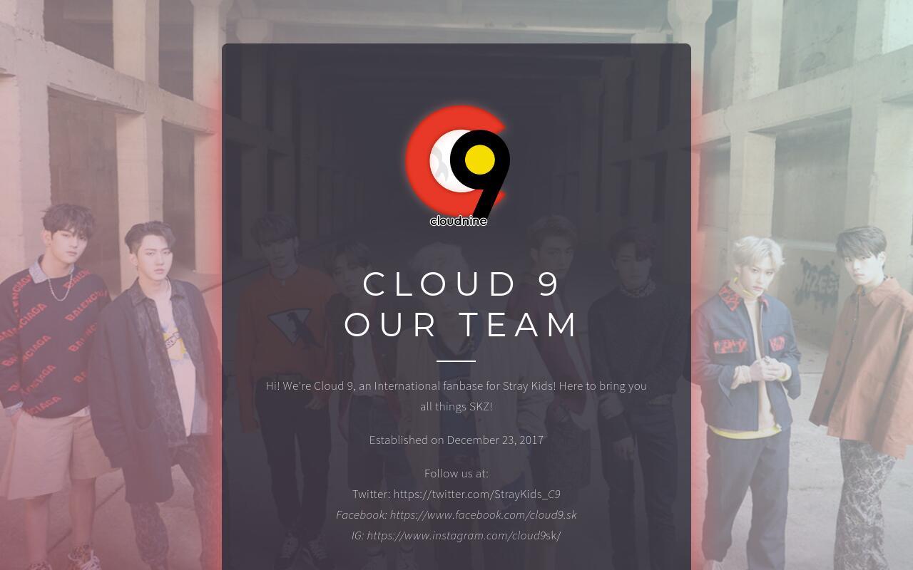 Cloud 9 Our Team